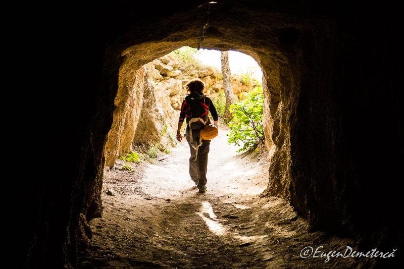 Caminito del rey - tunelul de intrare