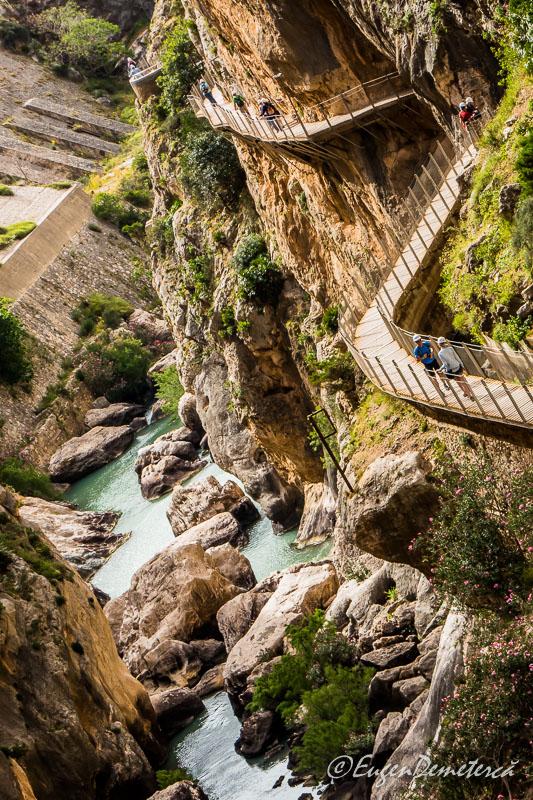 P1030124 - Caminito del Rey: spectacol cu adrenalină sigură