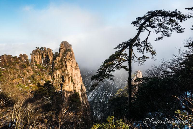 Pin pe muntele Huangshan