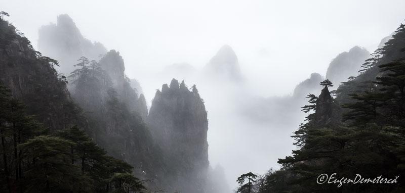 Huangshan pe ploaie 2