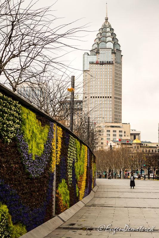 Shanghai - Bund - gard colorat