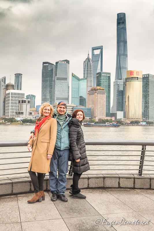 Shanghai - Romani pe Bund