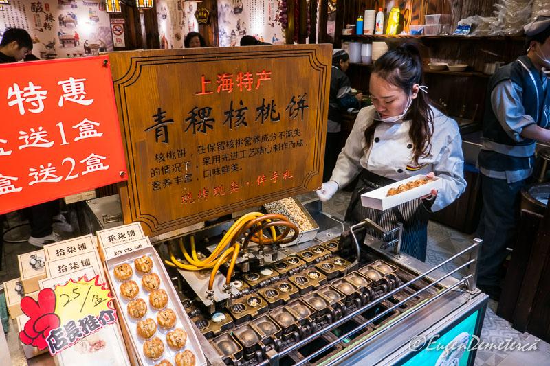 Shanghai - producator Yuyuan bazar