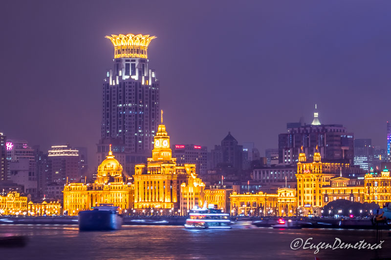 Shanghai - Bund noaptea