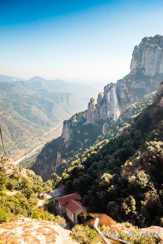 Montserrat - din telecabina (aerio) 3