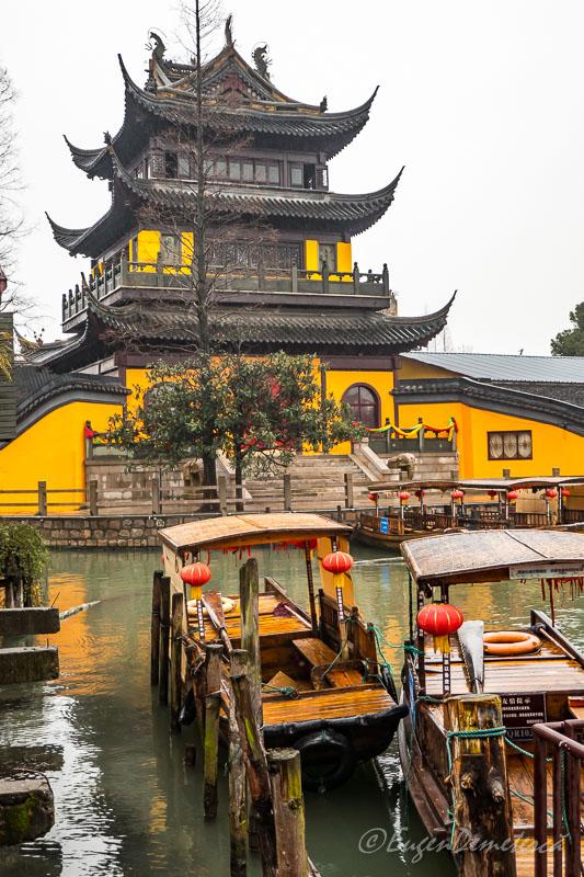 Templul Yuanjin din Zhujiajiao