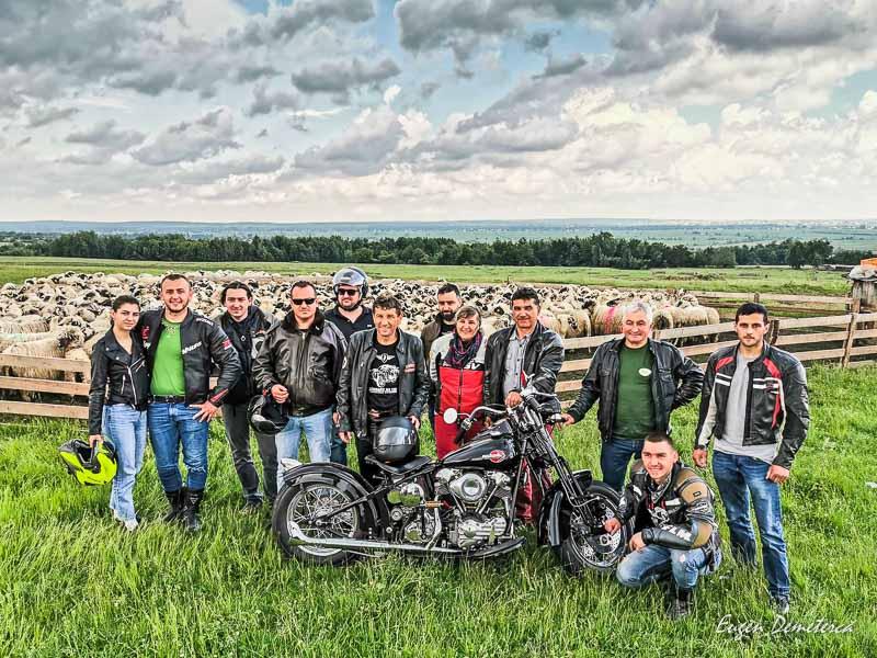 Motociclisti la Radauti