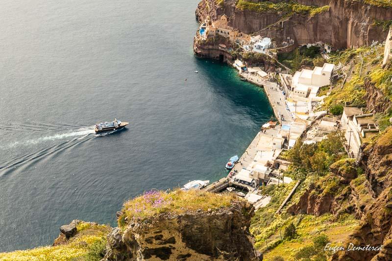 Portul din Fira