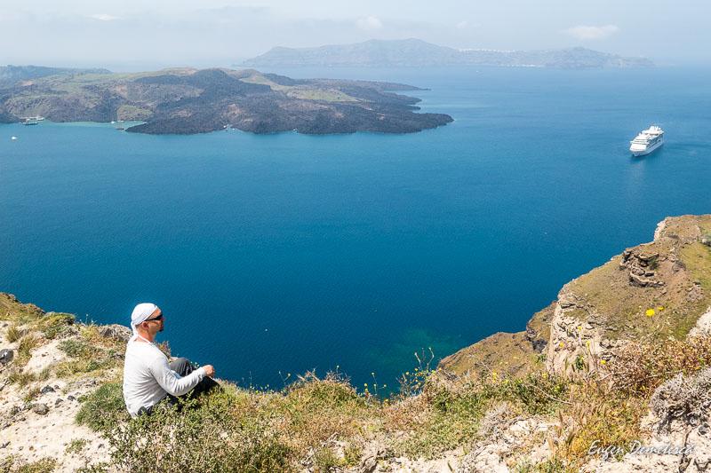 Eugenisme pe inaltimile din Santorini
