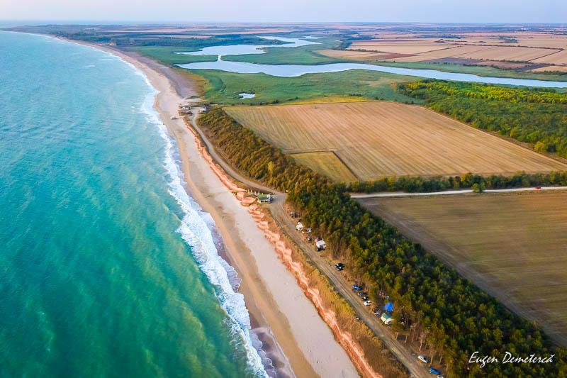 Plaja Ezerets de sus