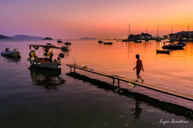 Apus in port la Skiathos