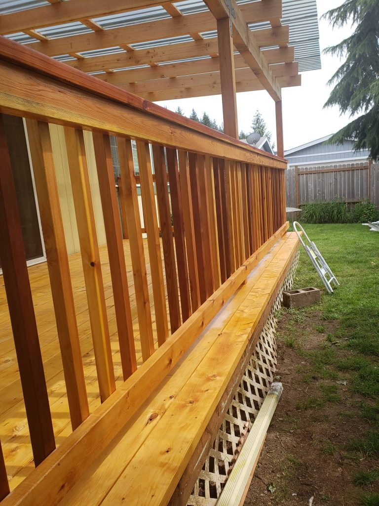 deck builders eugene or call for