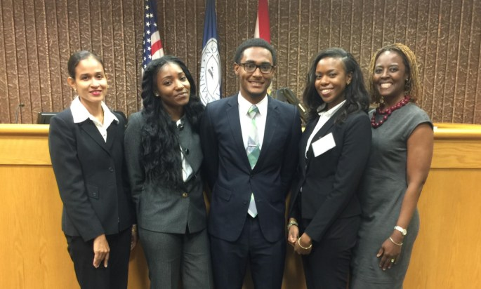 EDLS STUDENTS PRACTICE ADVOCACY SKILLS AT CARIBBEAN LAW CLINIC