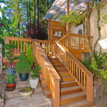 Real Estate Exterior Deck Image