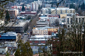 Eugene from Skinners Butte