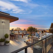 Kin Collection Burnaby Townhomes - City Home Collection Rooftop Patio