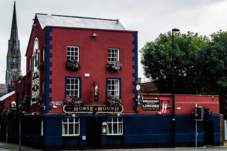 Red and Blue Pub (Limerick, Ireland, July, 2019)