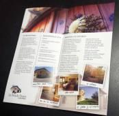 Interior del folleto.