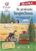 """Cartel anunciador obra """"De profesión: Sospechoso""""."""