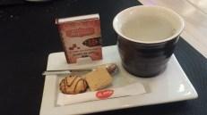 Mirad qué bonito colocan el té!!