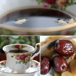 Korean ginger jujube tea 생강 대추차