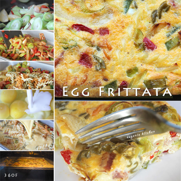Egg Frittata from Scratch
