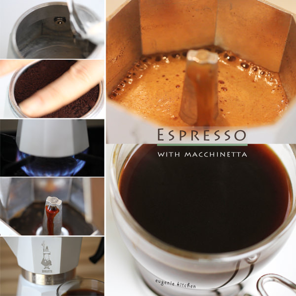 How to Make Coffee with Crema using a Macchinetta, Espresso Stovetop Maker Bialetti Moka Express