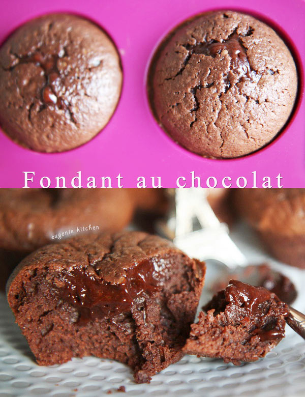 Fondant au Chocolat Recipe - French Chocolate Cake