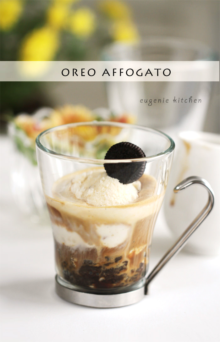 McDonald's Oreo Affogato: 3-Ingredient Ice Cream Coffee Recipe