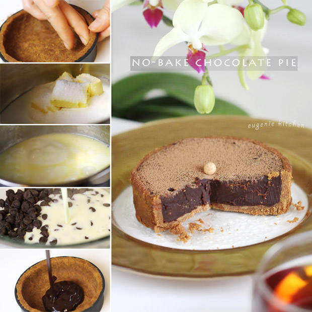 No Bake Chocolate Tart Recipe