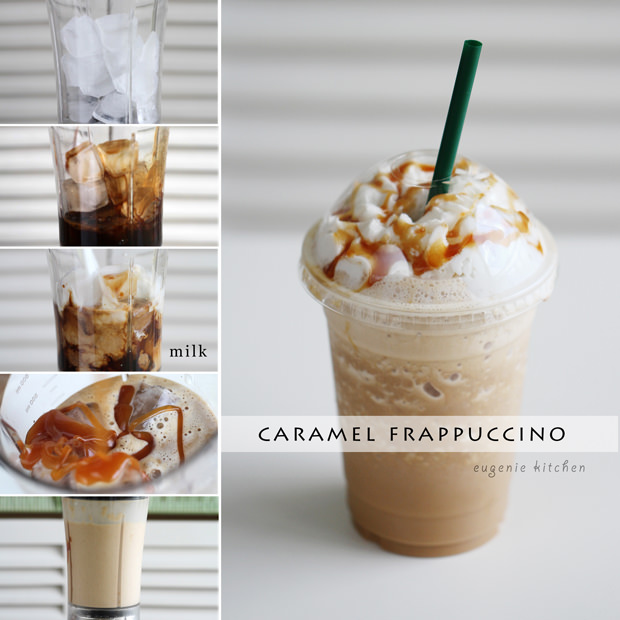 How to make homemade Starbucks caramel Frappuccino