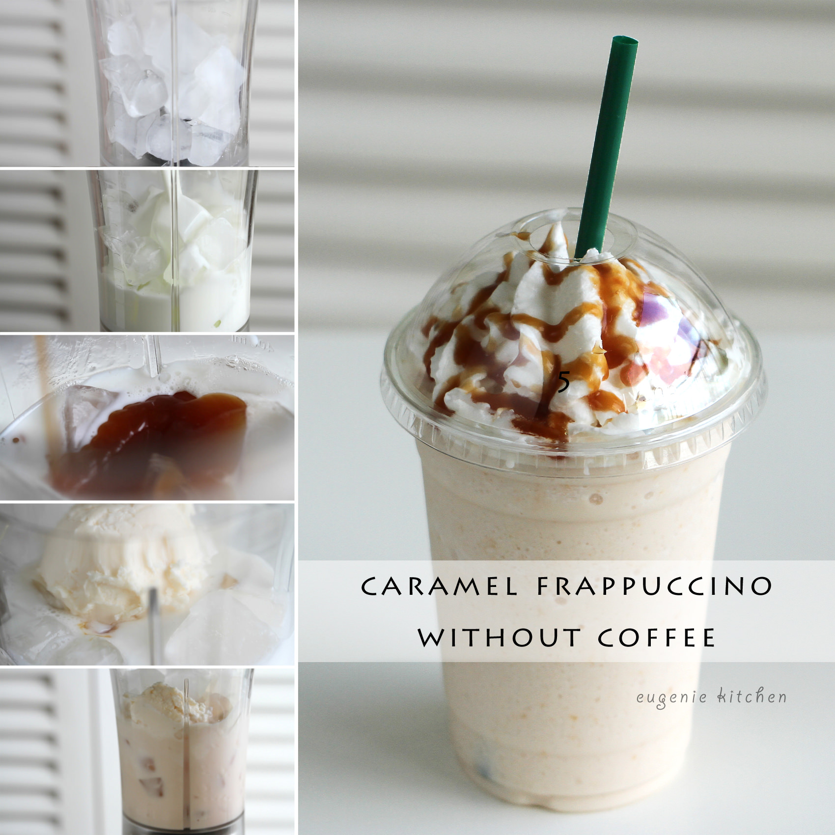 Caramel Frappuccino Without Coffee Copycat