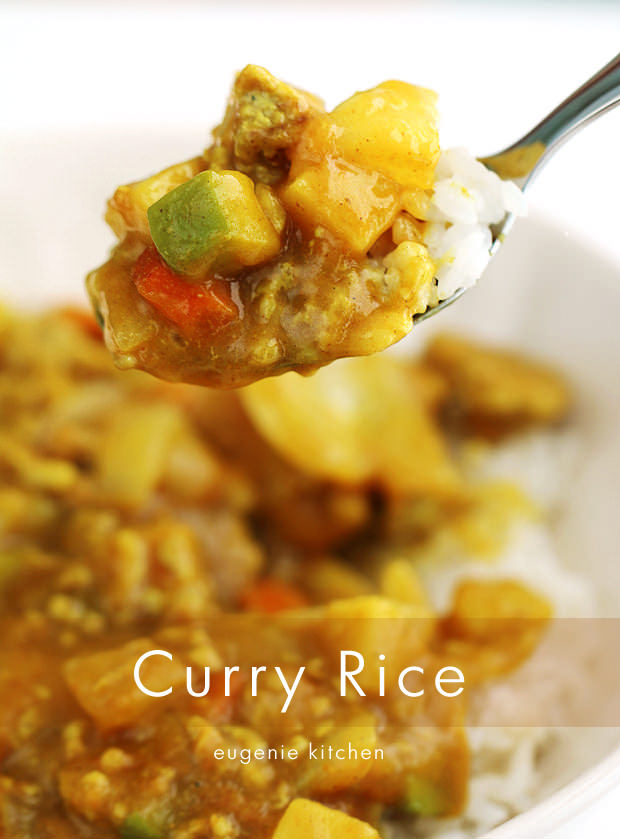 Korean Curry Rice Recipe - Eugenie Kitchen