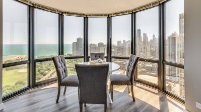 dining rooms with views