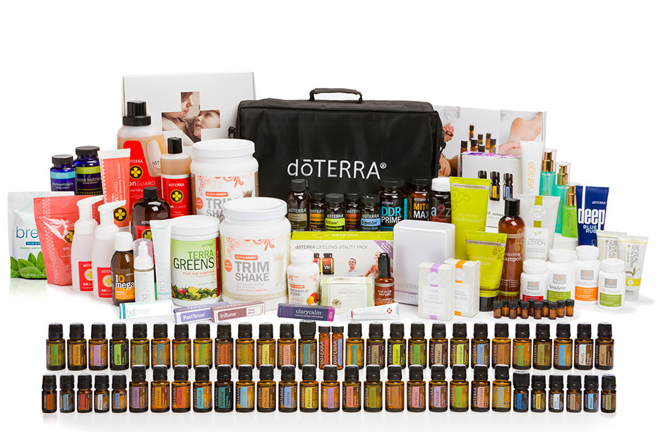 all doTERRA products
