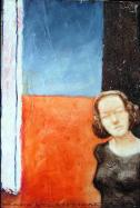 Getho, 40x30 cm, oil on wood, 1997.