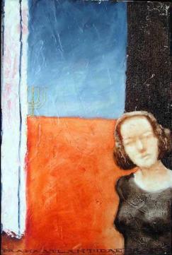 Getho, 40x30 cm, oil on wood, 1997.