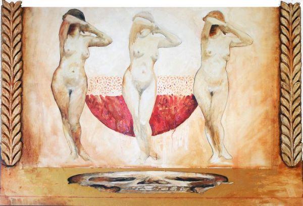 Vita, 100x150 cm, oil on canvas, 2008