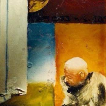 Brod n/s, oil on paper, 25x30 cm, 1996.