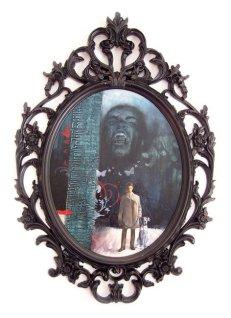 """Owner"" 70x50 cm, acrylic on wood, 2009."
