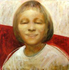 Eva, 100x100 cm, oil on canvas, 2004.