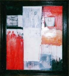 """""""Faceless"""" 50x70 cm, mixed"""