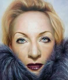 Winter, 140x120 cm, oil on canvas, 2017