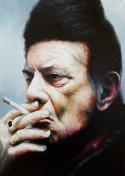 12Profesor 2017 oil on canvas 70x50 cm