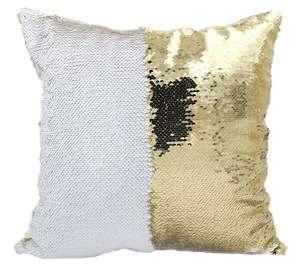 mida promotion fashion decorative reversible custom sublimation sequin pillow