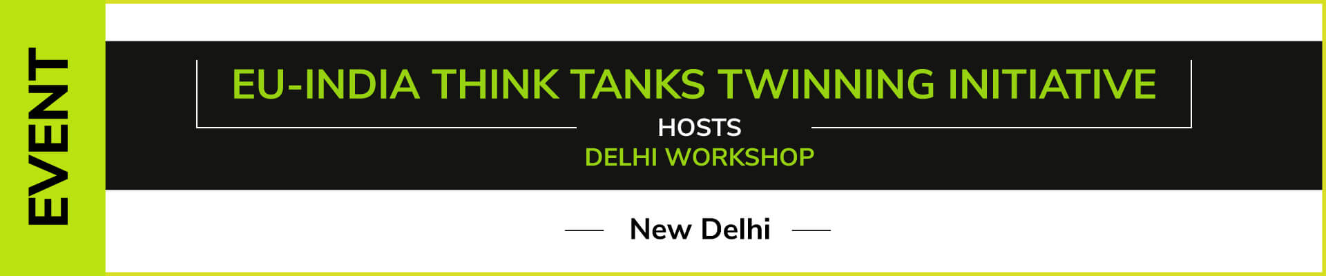 Event – EU India TTTI hosts Delhi workshop