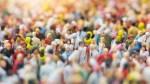 Photo of miniature figures of people