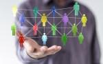 Image of virtual human network