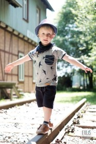 Buntspecht Stoffe Schwalben Musselin Kid 5 4