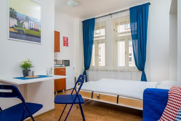 Sunny apartment for rent in Prague